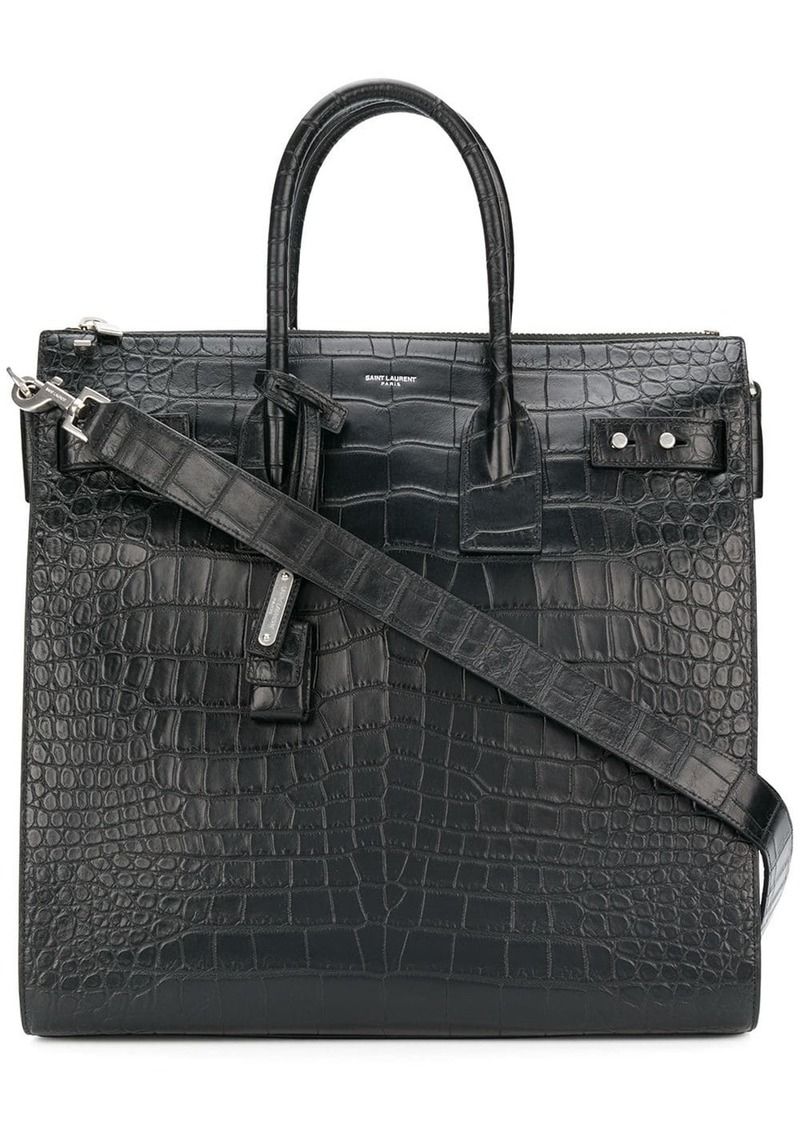 Yves Saint Laurent top handles tote