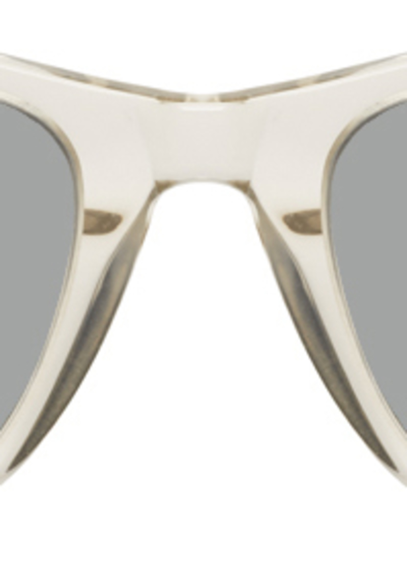 Yves Saint Laurent Transparent SL 304 Slim Sunglasses