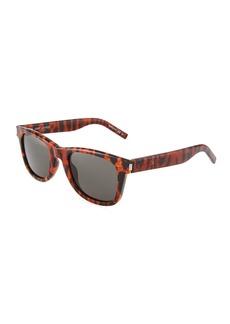 Saint Laurent Unisex Square Acetate Sunglasses