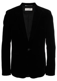 Yves Saint Laurent velvet tuxedo jacket