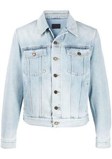 Yves Saint Laurent stonewashed denim jacket