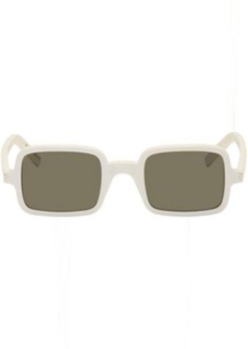 Yves Saint Laurent White SL 332 Sunglasses