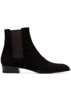 Yves Saint Laurent Wyatt Chelsea boots
