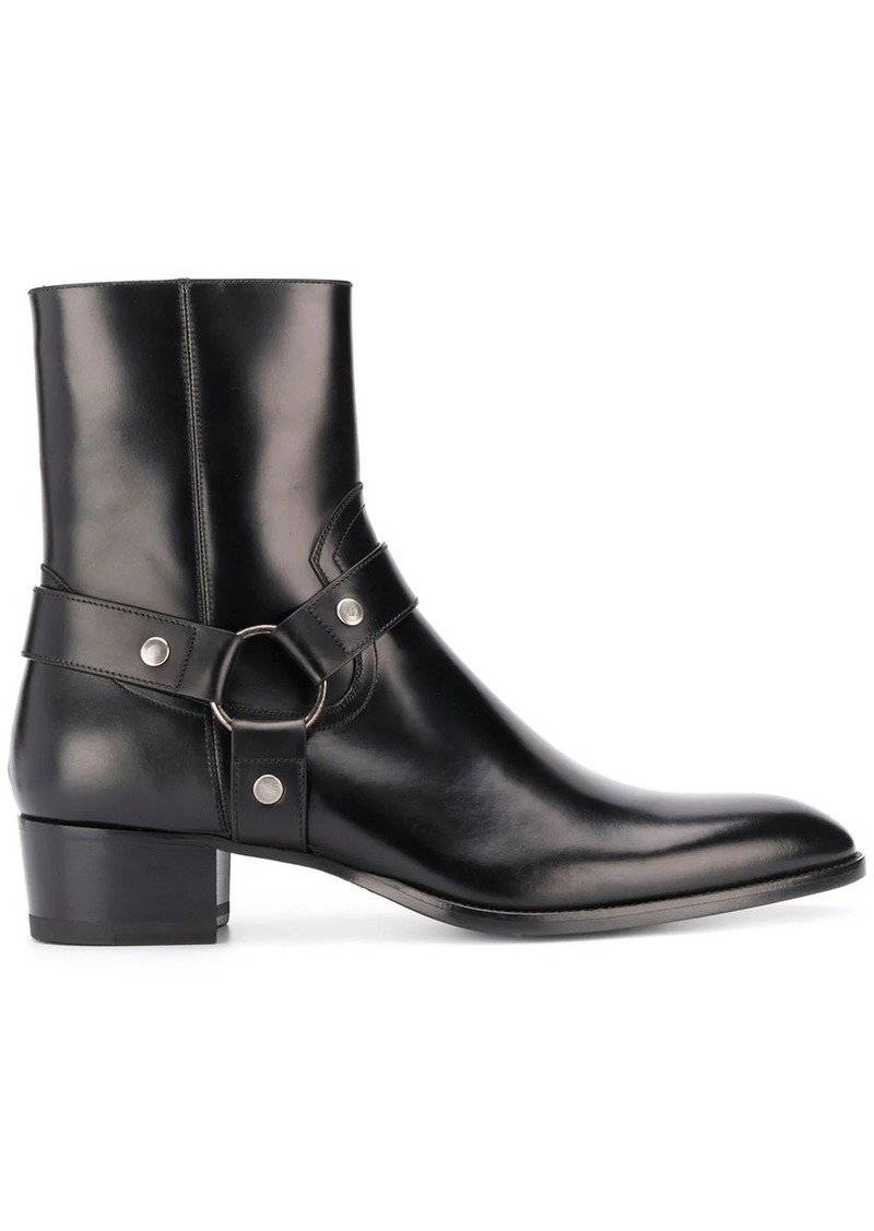 Yves Saint Laurent Wyatt Harness boots