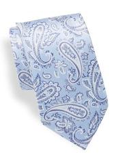 Yves Saint Laurent Paisley Italian Silk Tie