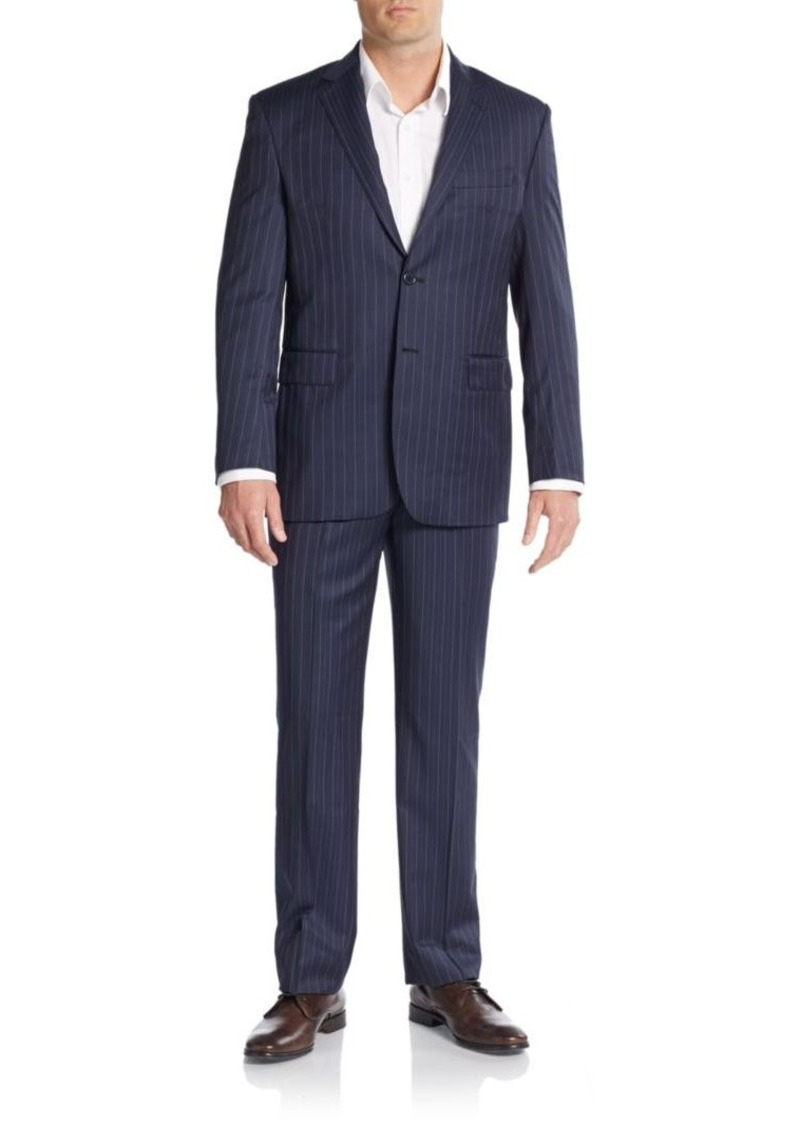 Yves Saint Laurent Modern-Fit Pinstripe Wool Suit