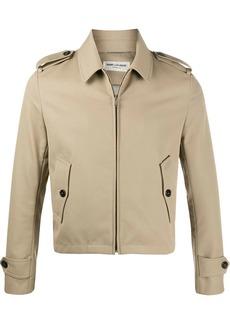 Yves Saint Laurent zip-up shirt jacket