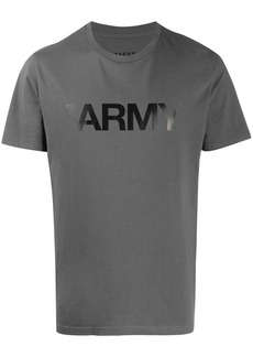 Yves Salomon Army print T-shirt