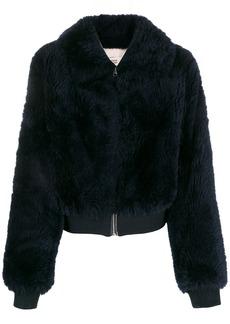 Yves Salomon faux fur jacket