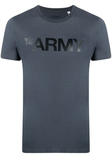Yves Salomon logo print T-shirt