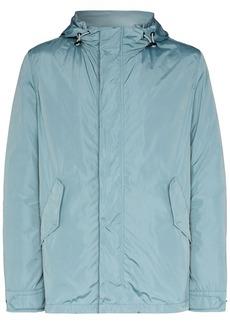 Yves Salomon nylon windbreaker jacket