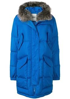 Yves Salomon oversized parka coat