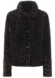Yves Salomon Reversible Shearling & Leather Jacket