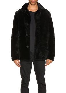 Yves Salomon Merinos Lamb Coat