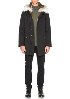 Yves Salomon Parka with Coyote Fur