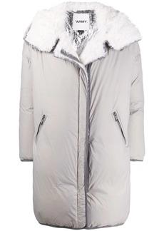 Yves Salomon zip-up down coat