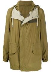 Yves Salomon zipped lightweight jacket