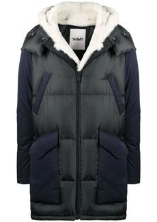 Yves Salomon zipped padded coat