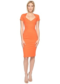 Zac Posen Bondage Jersey Short Sleeve Dress