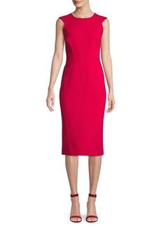 Zac Posen Cap-Sleeve Sheath Dress