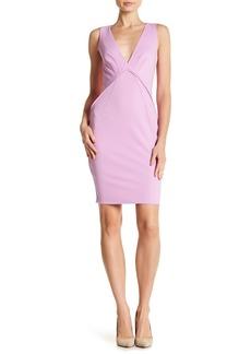 Zac Posen Clarise V-Neck Dress