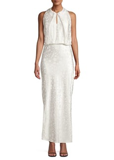 Zac Posen Draped Long Dress