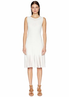 Zac Posen Knit Radiant Stripe Dress