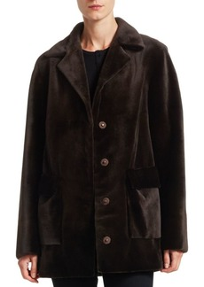 Zac Posen Sheared Mink Jacket