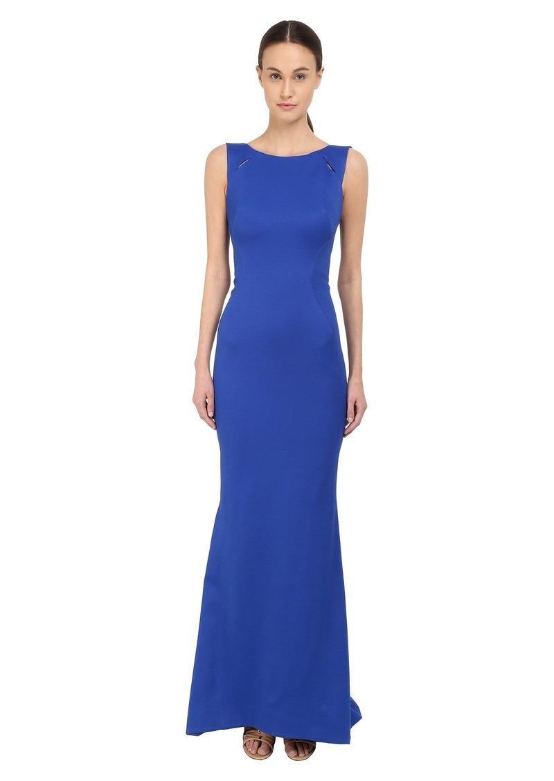 Zac Posen Sleeveless Boat Neck Gown | Dresses