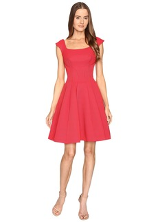 Zac Posen Sleeveless Ottman Fit and Flare Dress