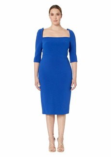 Zac Posen Square Neck Dress