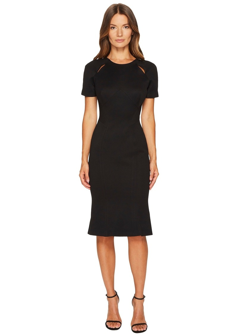 Zac Posen Bondage Jersey Short Sleeve Dress   Dresses - Shop It To Me