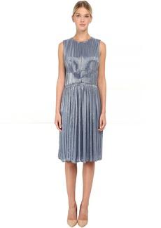 Zac Posen Bugle Beaded Cocktail Dress