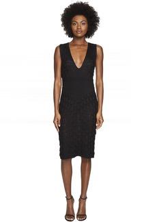 Zac Posen Dandelion Lace Knit Sleeveless Dress