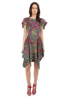 Zac Posen Flutter Sleeve Dress