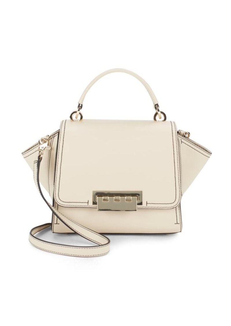 Zac Posen Leather Goldtone Handbag