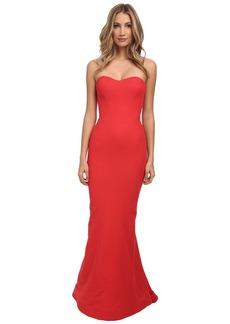 Zac Posen Long Bondage Jersey Dress