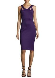 Zac Posen Sleeveless Body-Con Jersey Dress
