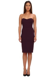 Zac Posen Strapless Fitted Cocktail Dress