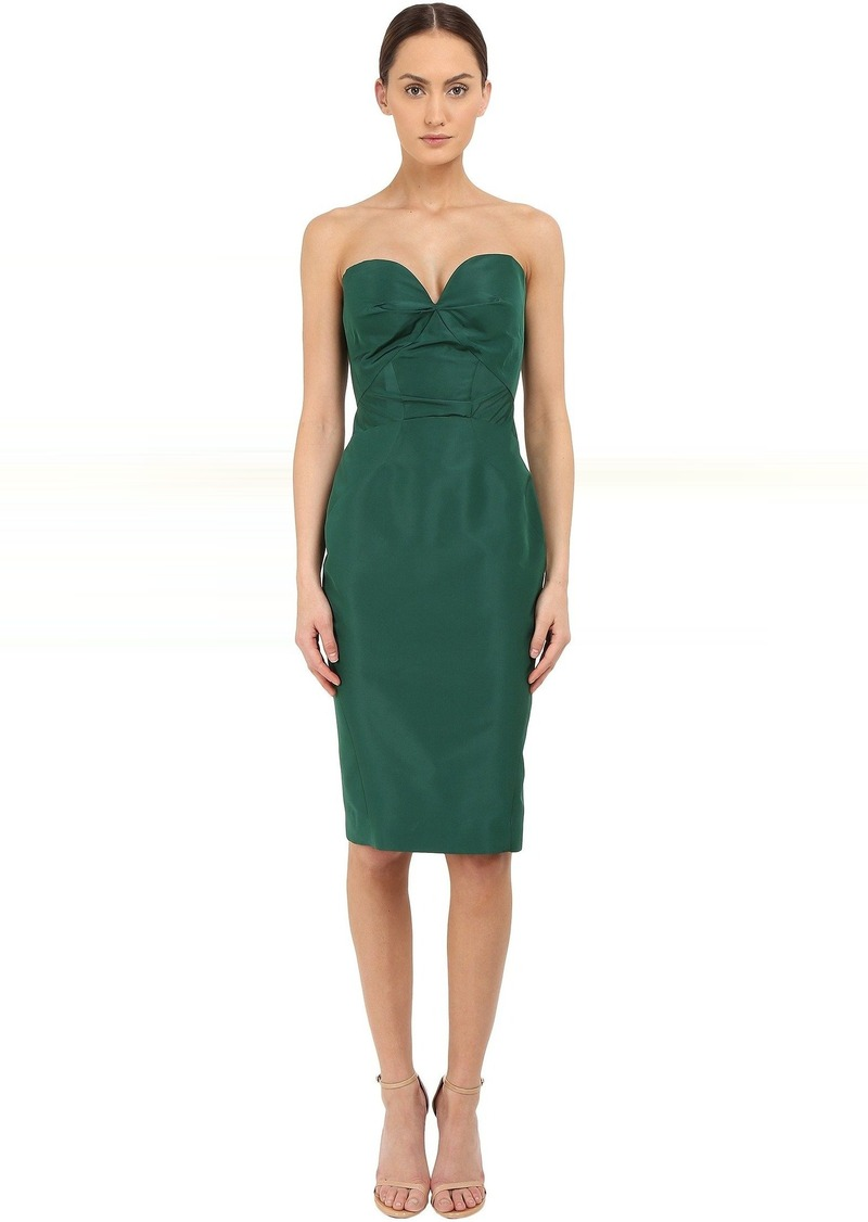 6b333b04f3f Zac Posen Zac Posen Strapless Fitted Cocktail Dress