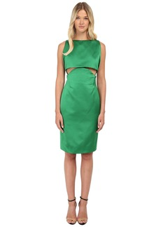 Zac Posen Two Part Cropped Dress with Open Back