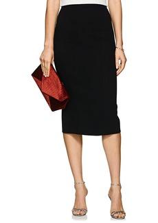 Zac Posen Women's Bonded Crepe Pencil Skirt