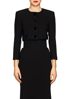 Zac Posen Women's Cady Crop Jacket