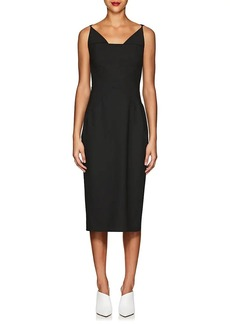 Zac Posen Women's Cady Fitted Sheath Dress