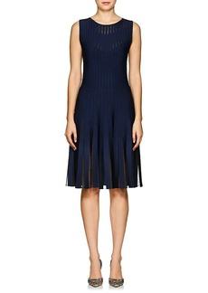 Zac Posen Women's Compact Knit Fit & Flare Dress