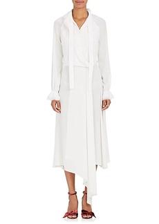 Zac Posen Women's Crepe Asymmetric-Collar Dress