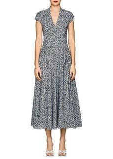 Zac Posen Women's Floral Cotton Poplin Dress