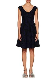 Zac Posen Women's Jacquard Fit & Flare Dress