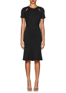 Zac Posen Women's Piqué Fitted Sheath Dress