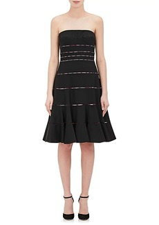 Zac Posen Women's Slashed Strapless Dress